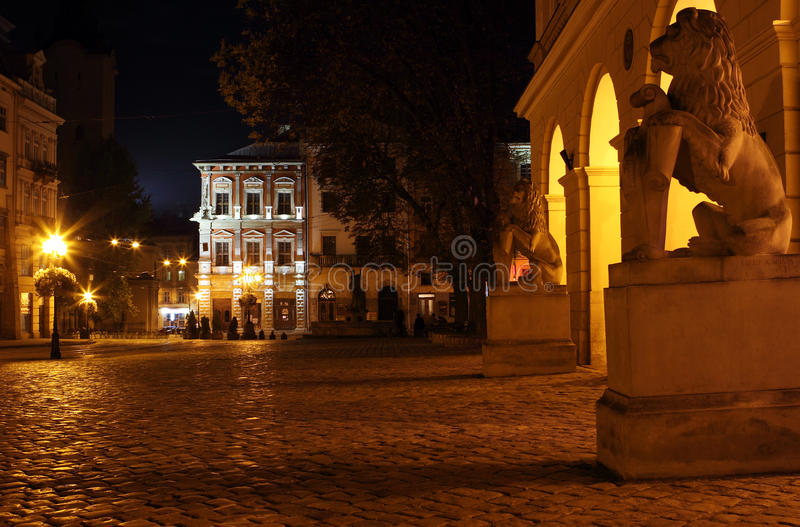 Download Rynok square in Lviv stock image. Image of architecture - 21259739