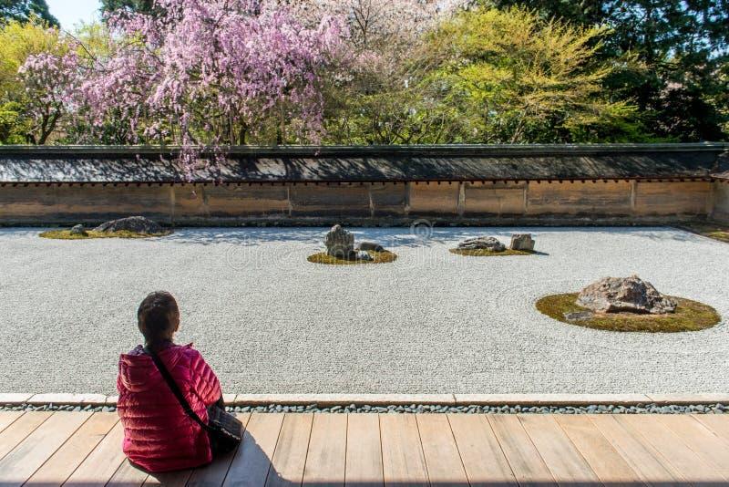 Ryoan-ji tempel på vår arkivfoto