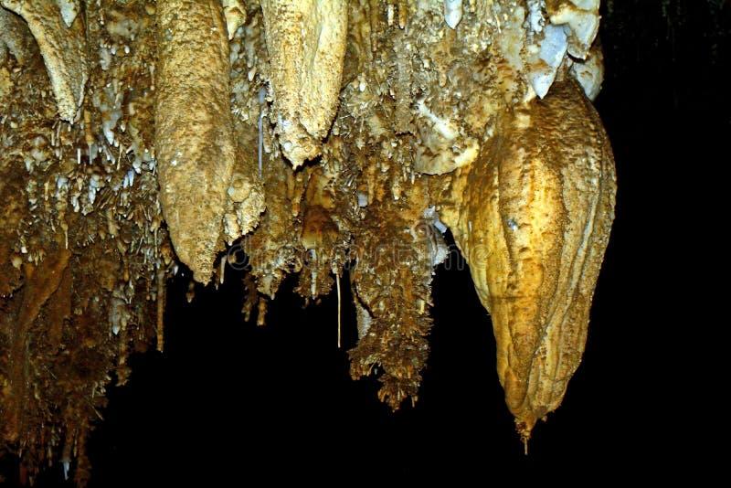 Ryongmun-Kalksteinhöhle, Myoyhang-Berge, Norden-Korea stockbilder