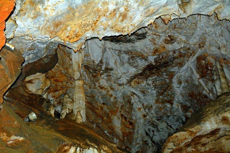 Ryongmun wapnia jama, Myoyhang góry, Korea obraz royalty free