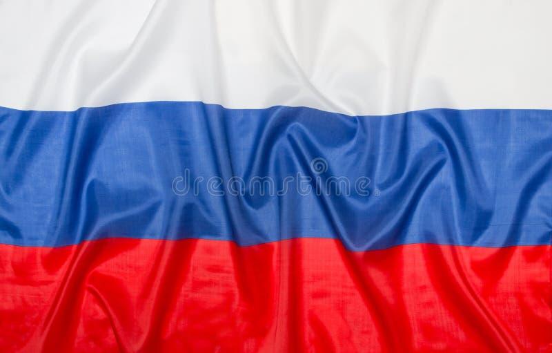 Rysk flagga Ryssland fotografering för bildbyråer