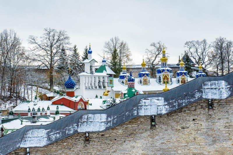 Rysk ortodox kloster royaltyfria foton