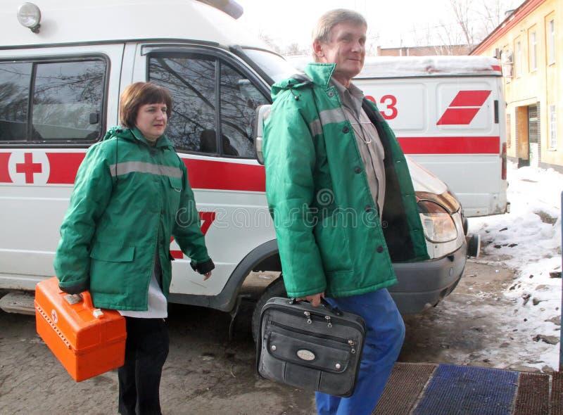 Rysk räddningstjänst royaltyfri bild