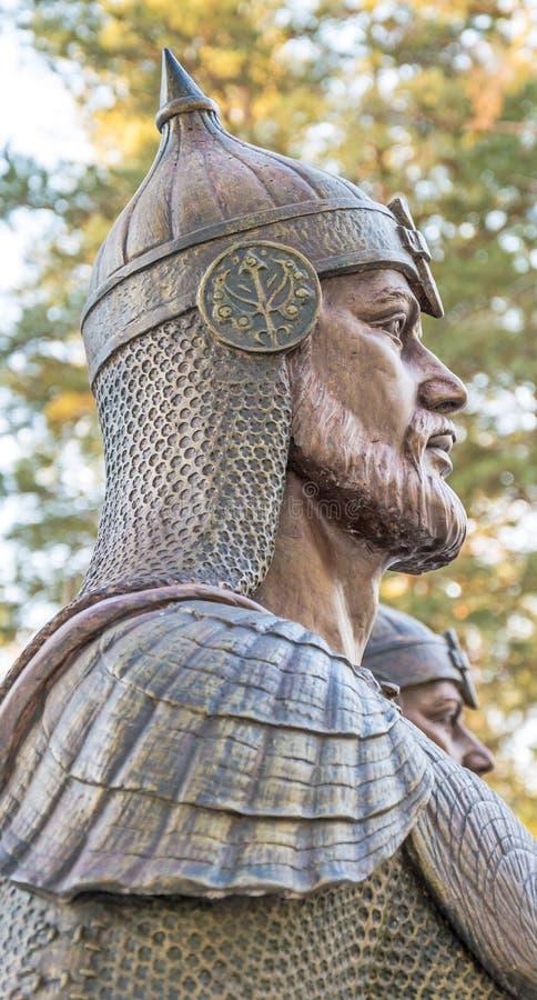 Rysk riddare-krigare royaltyfri bild