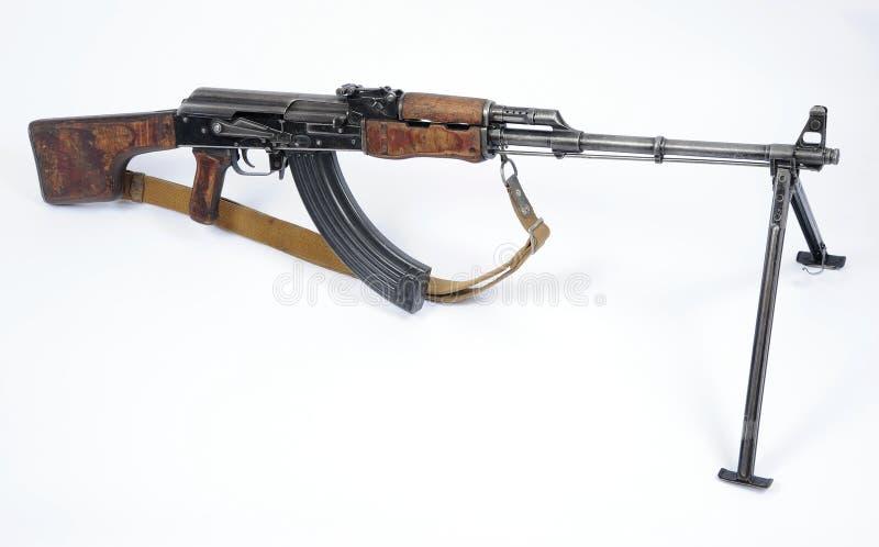Rysk RPK-maskingevär arkivbilder