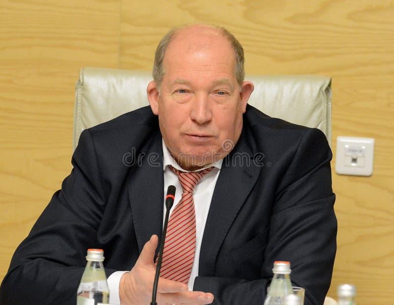 Rysk statsman Viktor Kiryanov royaltyfri bild