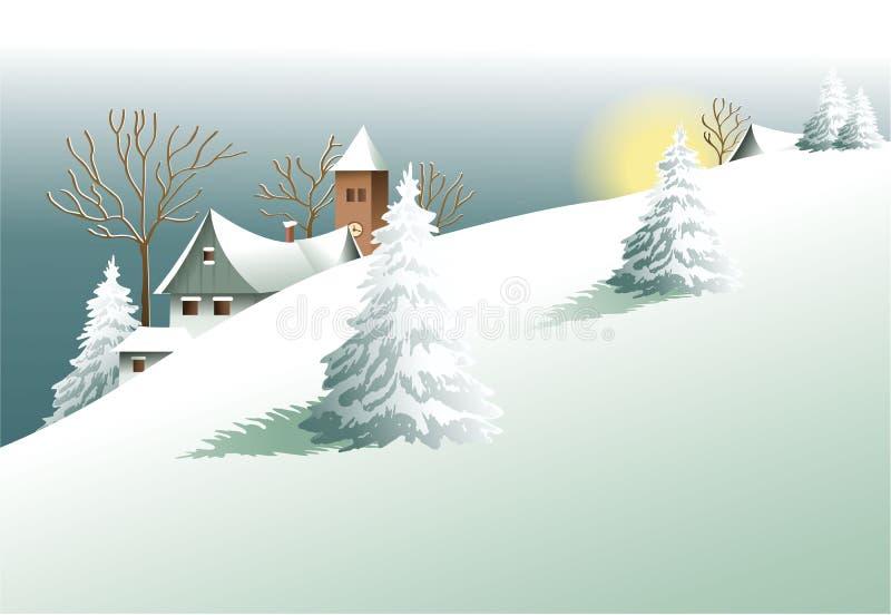 Rysk traditionell arkitektur stock illustrationer