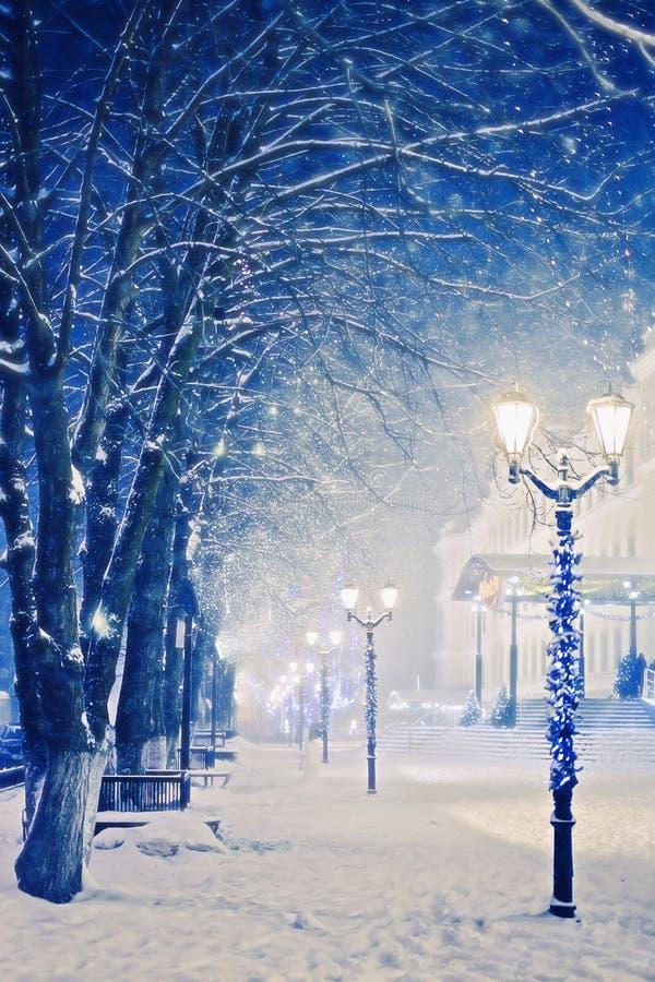Rysk vinter royaltyfri foto