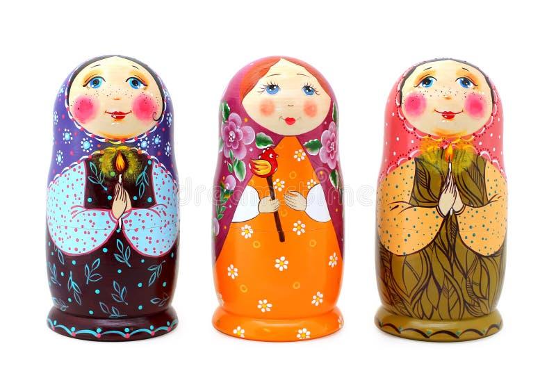 Ryska dockor arkivbild