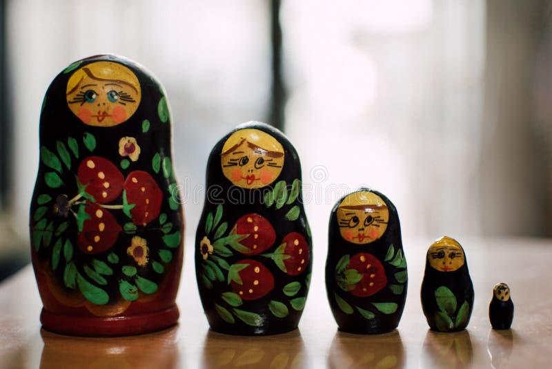 Ryska dockor arkivfoto
