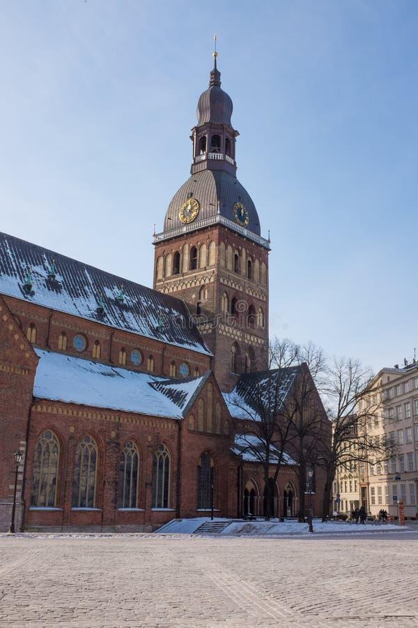 Ryska kopuły katedra, Latvia obrazy royalty free