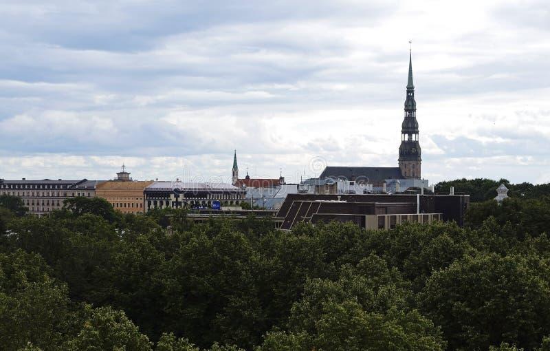 Ryska panorama stary miasteczko obraz royalty free