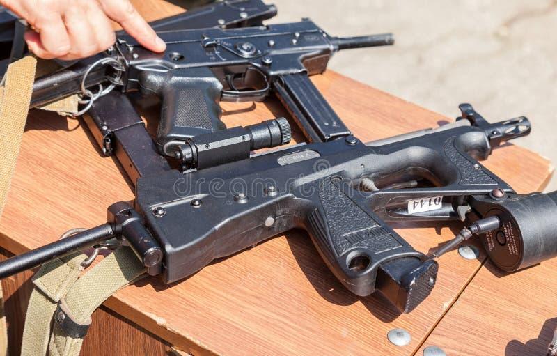 Ryska skjutvapen fotografering för bildbyråer