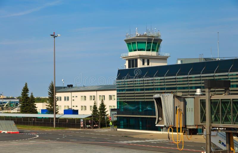 Ryski lotniskowy widok obraz stock