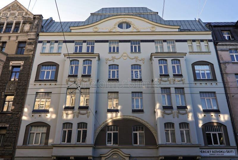 Ryski, Matisa ulica 38, nowożytna zdjęcie royalty free