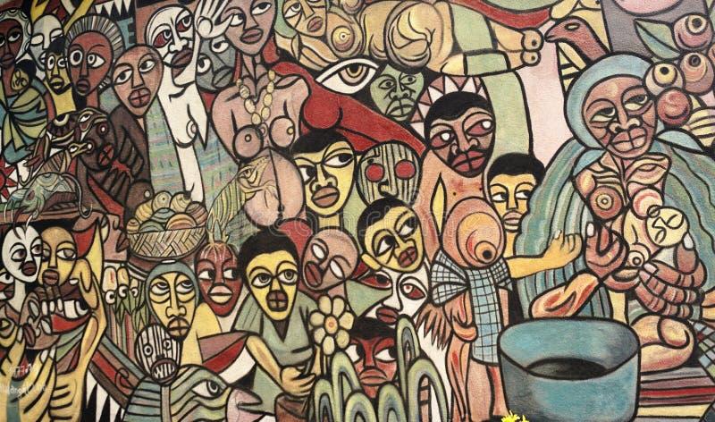 Rysować w Africa ilustracji