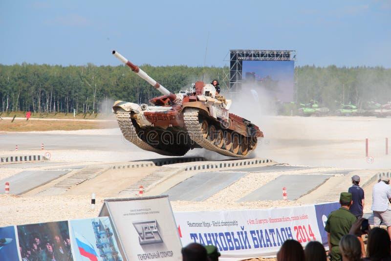 Ryss T-72B3M Tank arkivfoto
