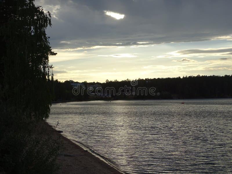 Ryssland Chelyabinsk oblast Snezhinsk Sommar royaltyfria bilder