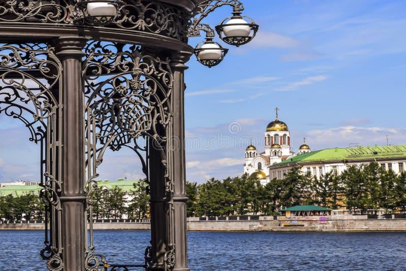 Ryssland Ekaterinburg fotografering för bildbyråer