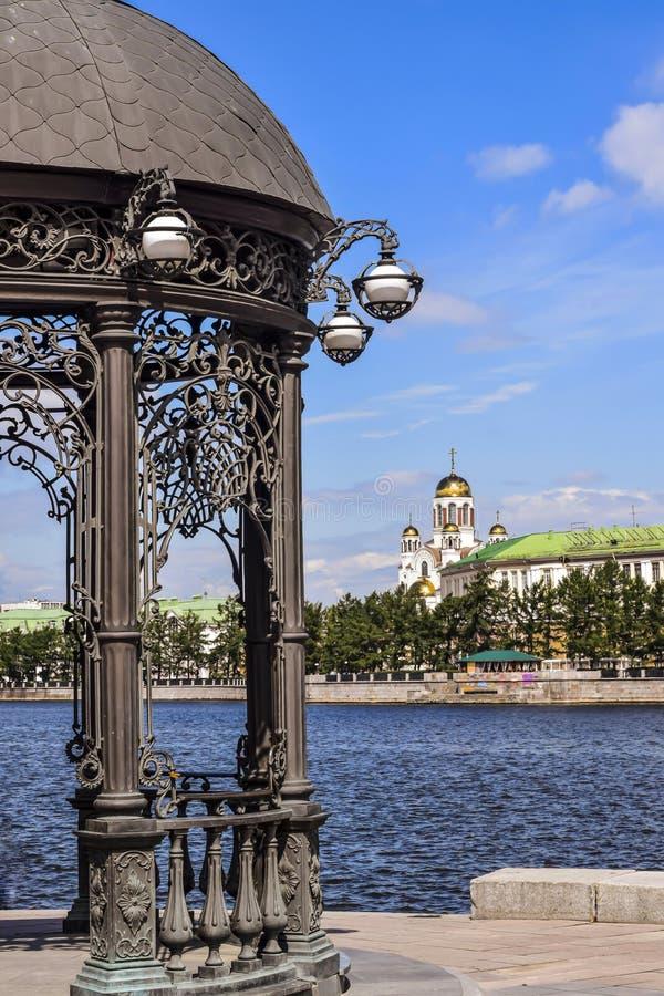 Ryssland Ekaterinburg royaltyfri fotografi