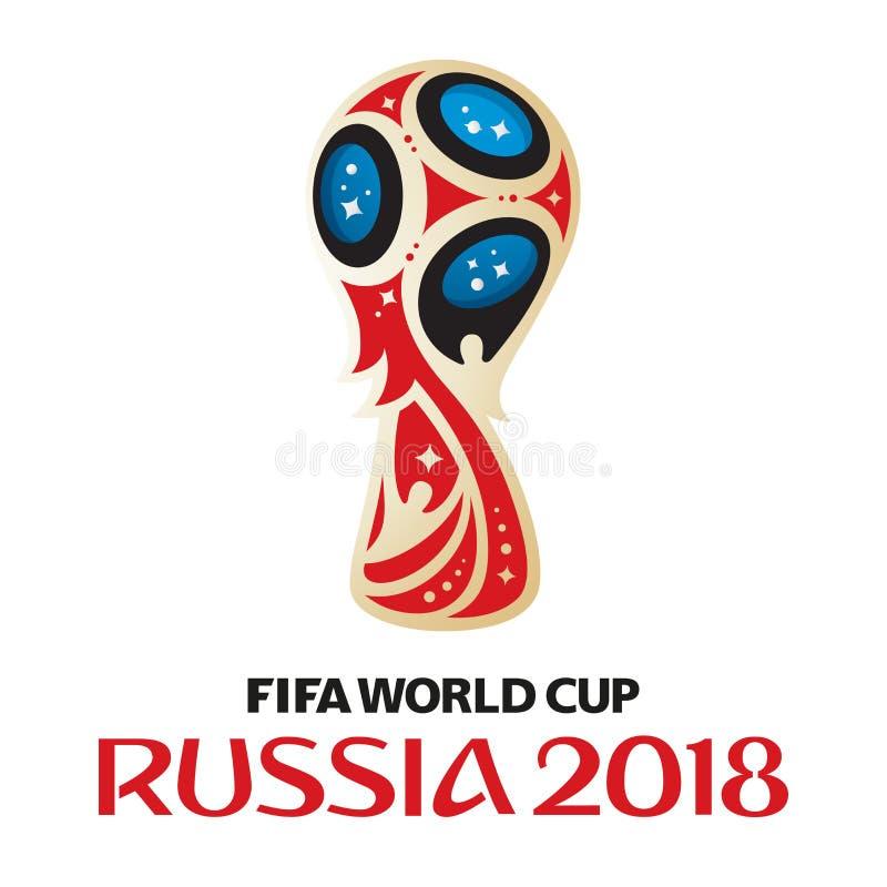 Ryssland världscup 2018 vektor illustrationer