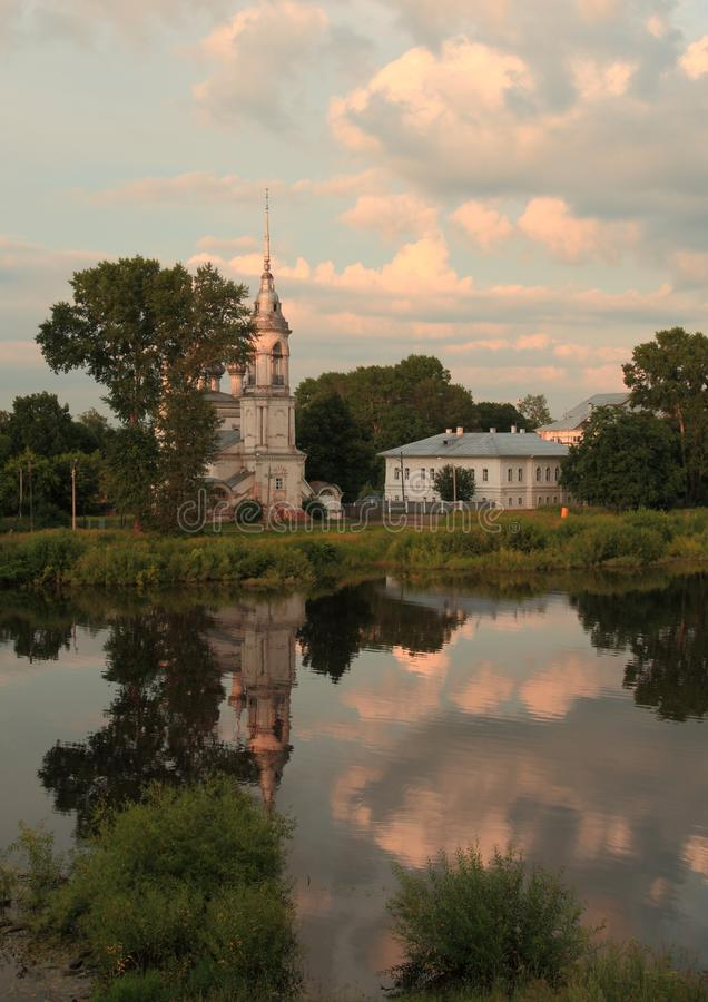 Ryssland Vologda arkivfoton