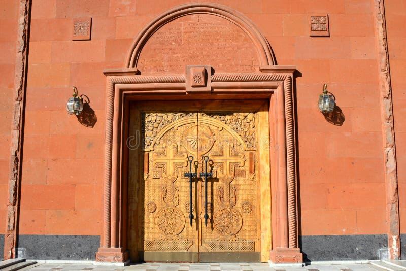 Ryssland yekaterinburg apostolic armenierkyrka royaltyfri bild