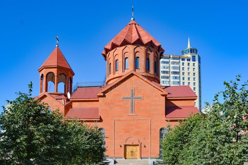 Ryssland yekaterinburg apostolic armenierkyrka arkivfoto