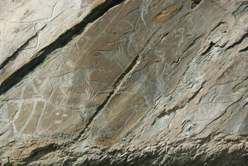 rysunek antyczne rzeźbić skały zdjęcie royalty free