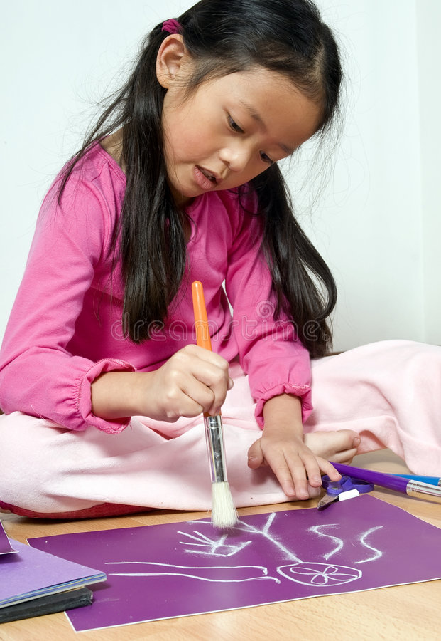 rysunek z dzieciństwa zdjęcia royalty free