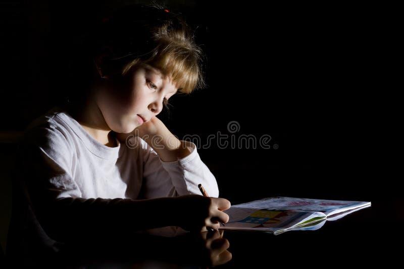 rysunkowa dziewczyna fotografia stock