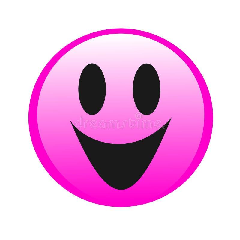Rysunkowy logo uśmiech ilustracji