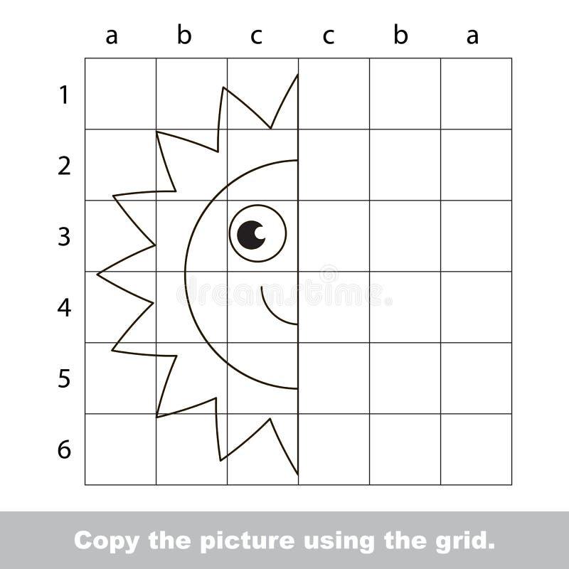 Rysunkowy tutorial dla dzieciaków ilustracja wektor