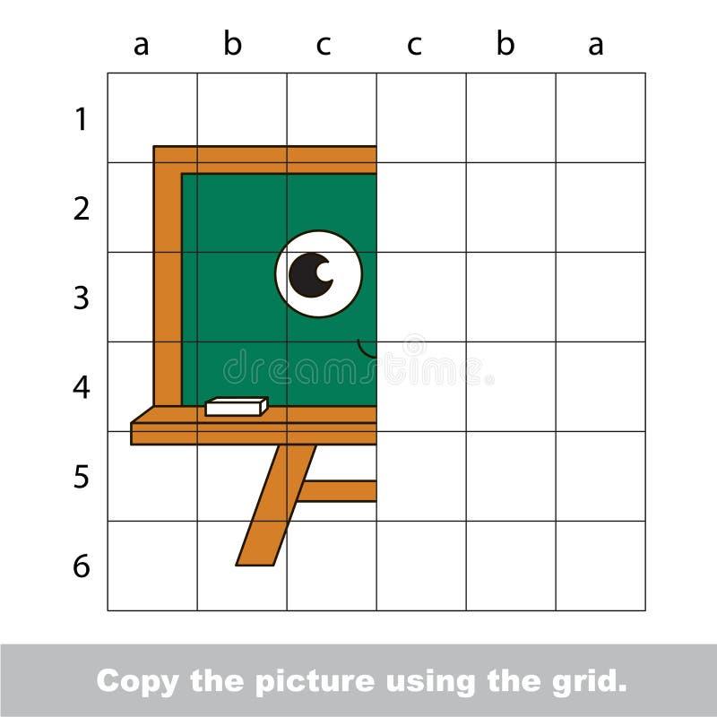 Rysunkowy tutorial dla dzieciaków royalty ilustracja