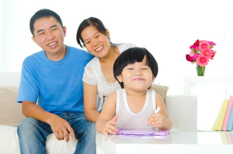 rysunku azjatykci dzieciak zdjęcie stock
