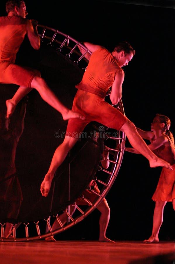 Rytmen av Liv-amerikan den moderna dansen arkivbild