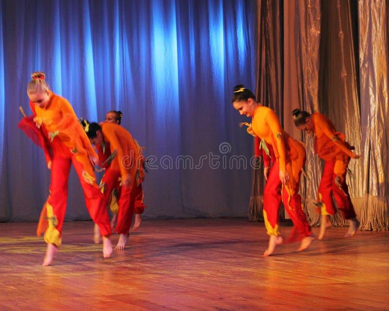 Rytmiczny taniec obraz royalty free