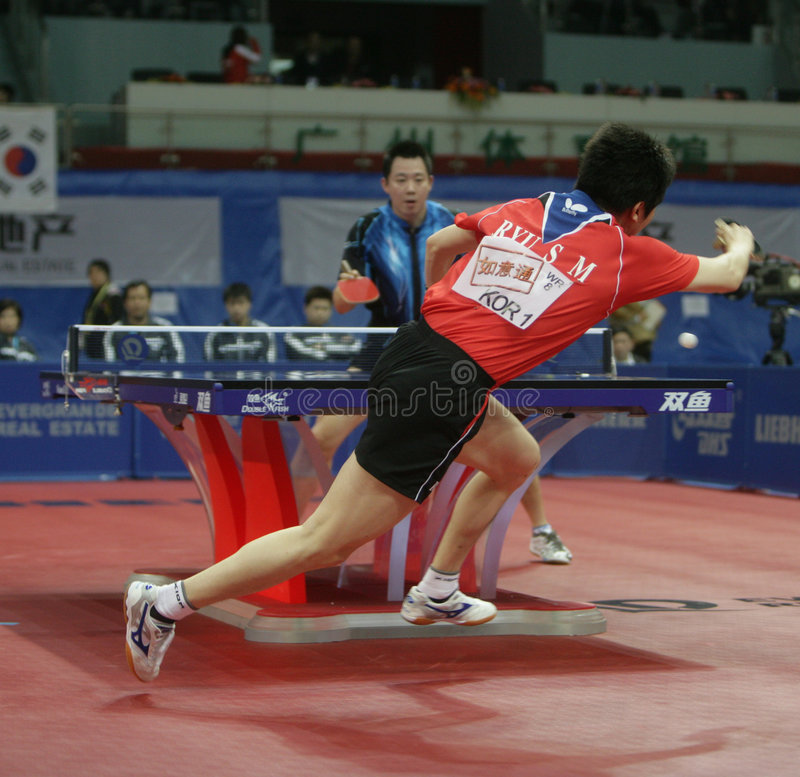 RYU Seung Min (KOR) stock afbeeldingen