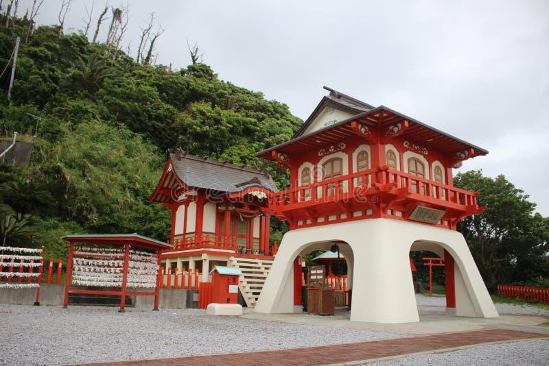 Ryuuguu Jinja Toyotama Otohime Kagoshima -Kagoshima-ken, Ibusuki, Kagoshima royalty-vrije stock foto's