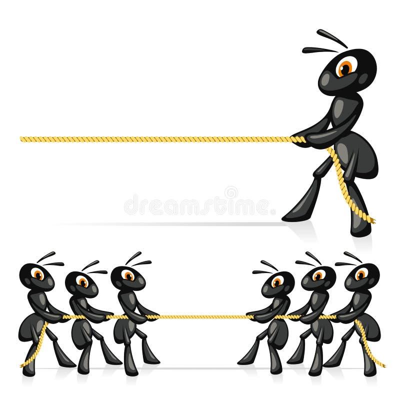 Download Rywalizacja Z arkaną ilustracja wektor. Obraz złożonej z holownik - 32966602