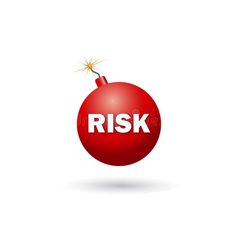 ryzyko ilustracja wektor