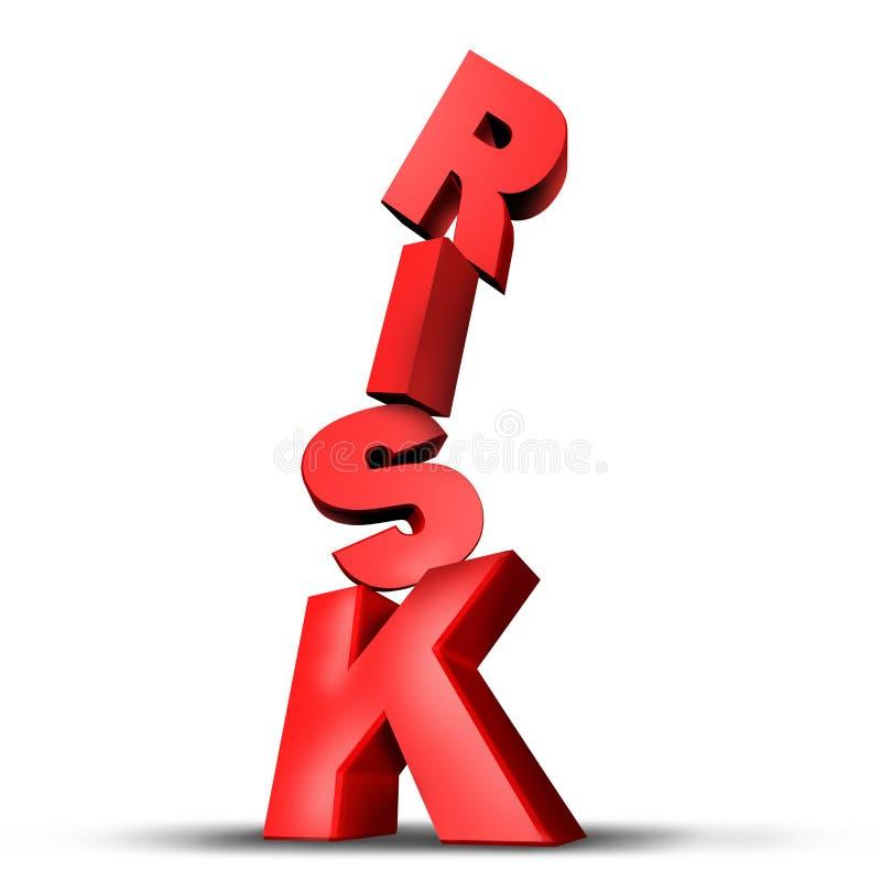 ryzyko royalty ilustracja