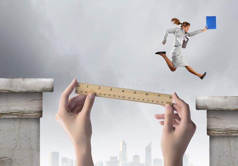 Ryzykowny biznes zdjęcie stock
