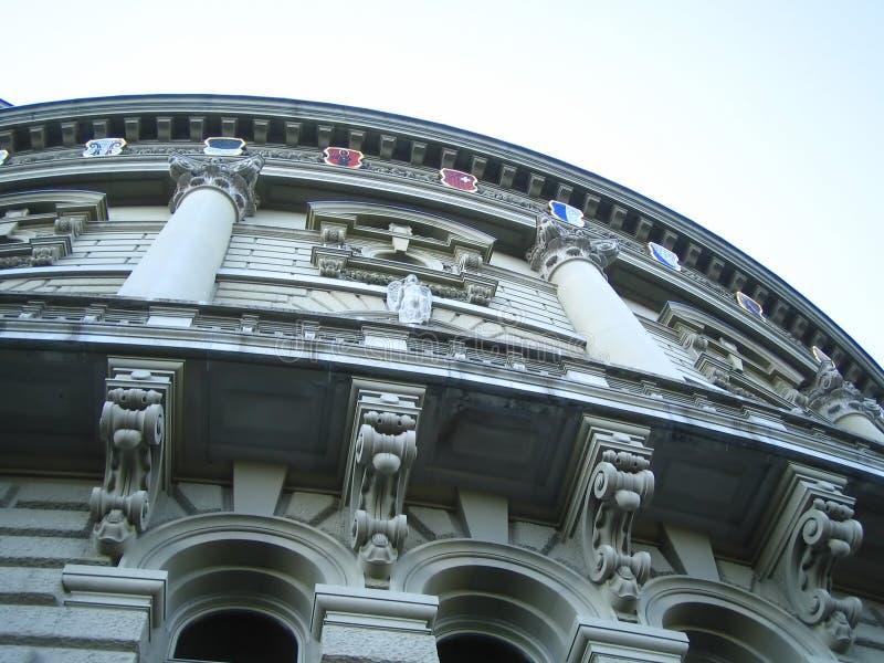 rząd budynku. zdjęcie royalty free