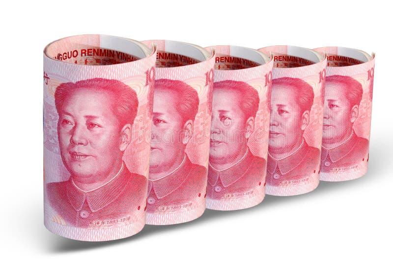 rząd chin pieniądze obraz stock