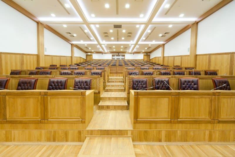 Rządowa sala konferencyjna obraz stock