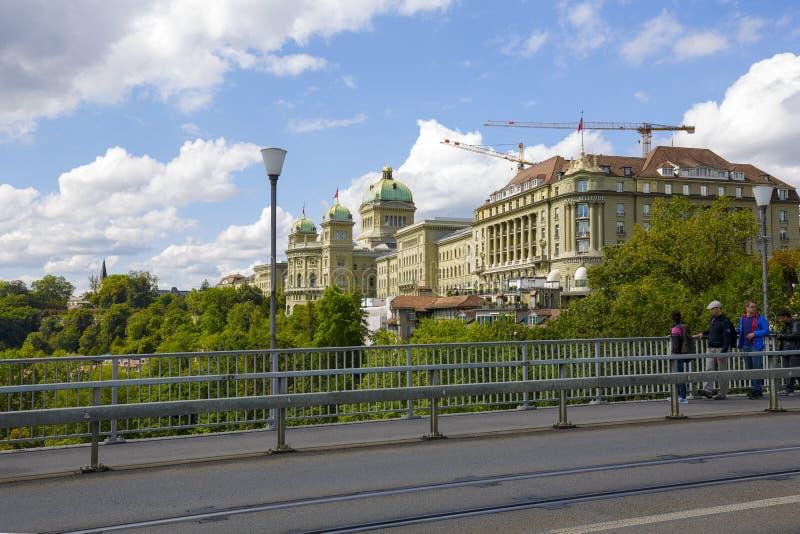 Rządowy budynku i hotelu Bellevue pałac obrazy royalty free