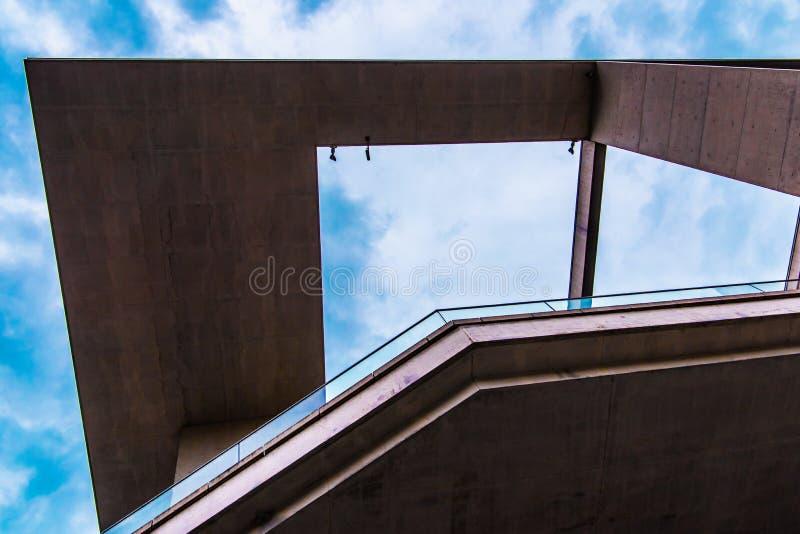 Rządowy budynku marie-elisabeth-là ¼ ders-haus w Berlin obraz royalty free