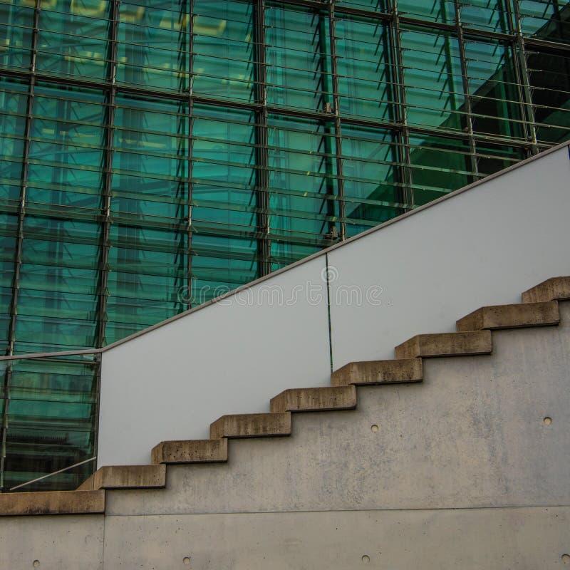 Rządowy budynku marie-elisabeth-là ¼ ders-haus w Berlin zdjęcia royalty free
