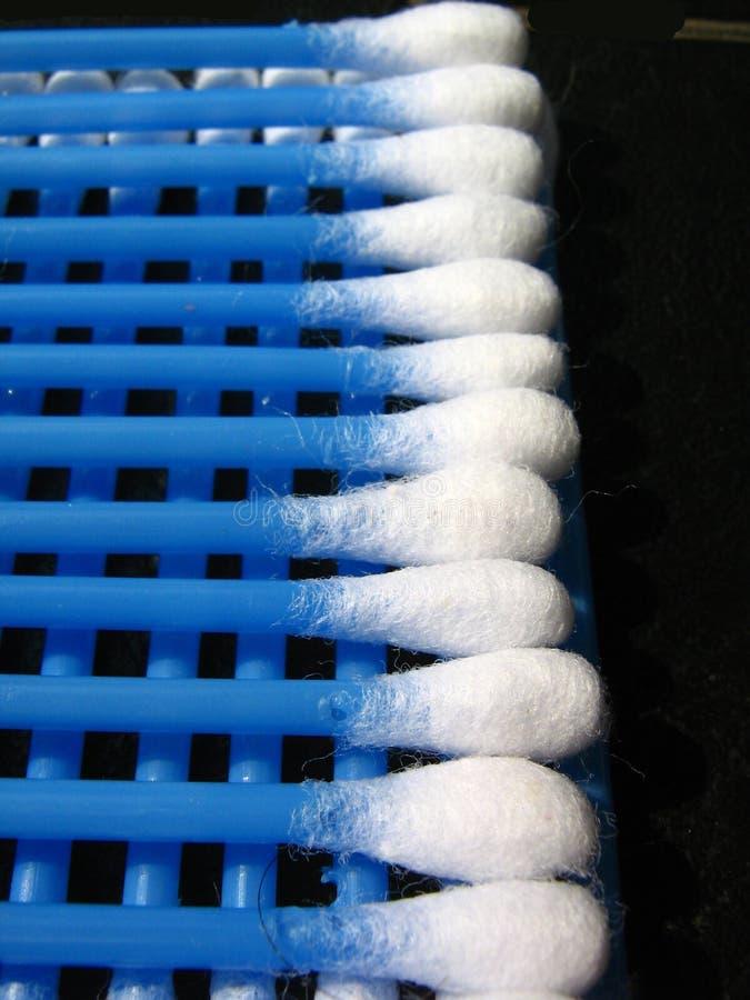 rzędów bawełniani mopy zdjęcie royalty free